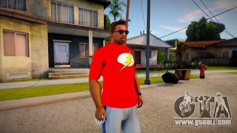 New T-Shirt - tshirtbobomonk for GTA San Andreas
