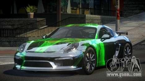 Porsche 718 Cayman GT4 S7 for GTA 4
