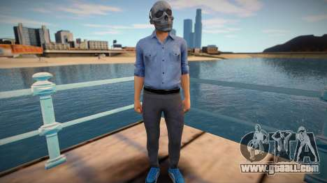 Skull man from GTA Online for GTA San Andreas