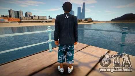 Wiz Khalifa Individ for GTA San Andreas