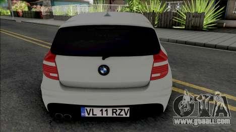 BMW 1-er E87 M Sport 2009 for GTA San Andreas