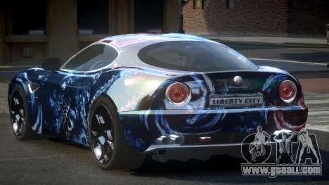 Alfa Romeo 8C US S5 for GTA 4
