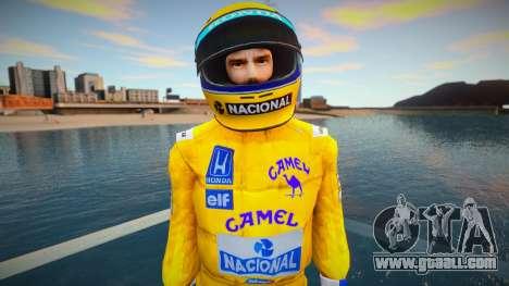 Ayrton Senna Lotus Camel Skin for GTA San Andreas