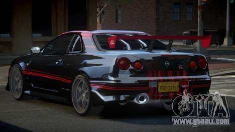 Nissan Skyline R34 PSI-S S7 for GTA 4