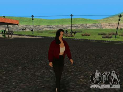 Cute girl Anna for GTA San Andreas
