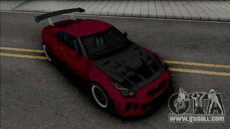 Nissan GT-R R35 Kream Edition v.2 for GTA San Andreas