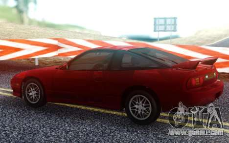 Nissan 180SX 2.0 Type X for GTA San Andreas