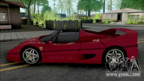 Ferrari F50 Spider (SA Lights) for GTA San Andreas