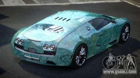 Bugatti Veyron PSI-R S8 for GTA 4