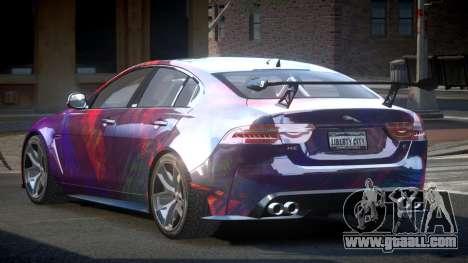 Jaguar XE GST S5 for GTA 4
