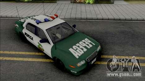 Police Civic Cruiser Pepega for GTA San Andreas