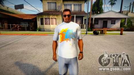 New T-Shirt - tshirtbase5 for GTA San Andreas