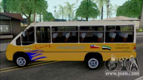 Metalpar Pucara 2000 Detalles 2d for GTA San Andreas