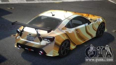 Subaru BRZ SP-U S2 for GTA 4