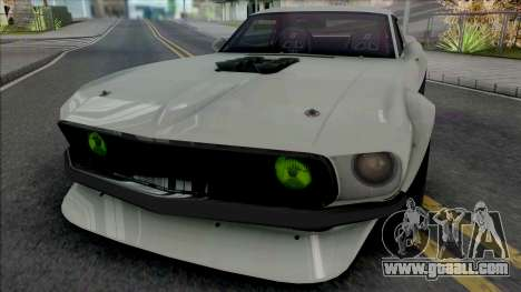 Ford Mustang RTR-X (SA Lights) for GTA San Andreas