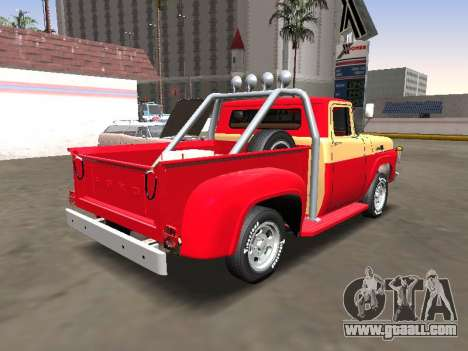 Ford F-100 1967 Stepside for GTA San Andreas