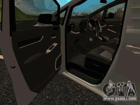 Toyota Alphard Hybrid Executive Louge for GTA San Andreas