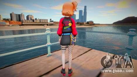 Chika Takami - Pioneering a New World for GTA San Andreas
