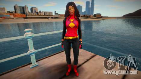 Spider-Woman (Jessica Drew) v2 for GTA San Andreas