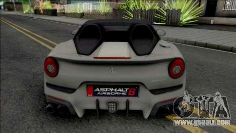 Ferrari F60 America 2014 for GTA San Andreas