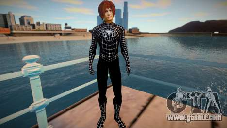 Spiderman 2007 (Black-Unmask) v1 for GTA San Andreas