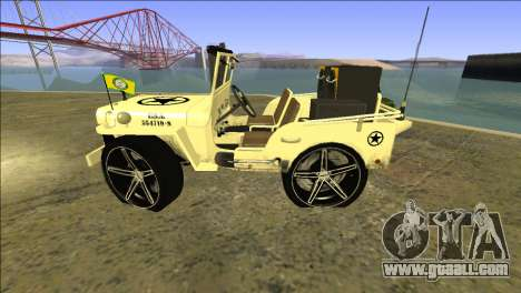 Punjabi Jeep Willy Mod by Harinder Mods for GTA San Andreas