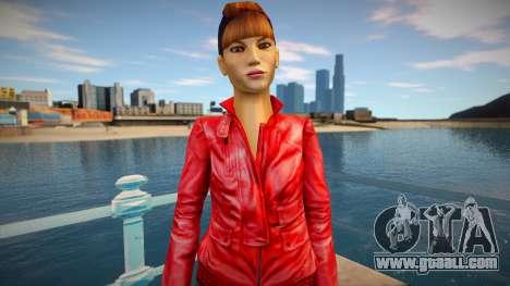 Slender Girl for GTA San Andreas