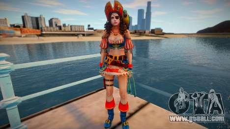 Jill Pirate for GTA San Andreas