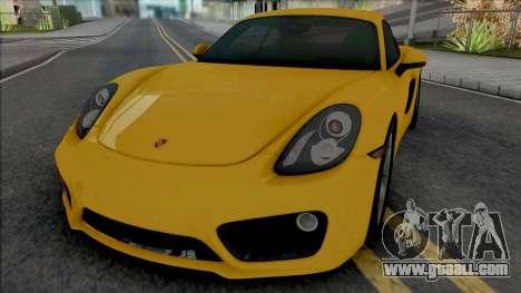 Porsche Cayman S (SA Lights) for GTA San Andreas