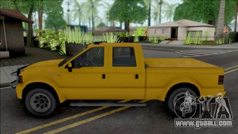 GTA V Vapid Sadler [VehFuncs] for GTA San Andreas