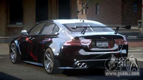 Jaguar XE GST S9 for GTA 4