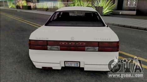 Karin Intruder [SA Plate] for GTA San Andreas