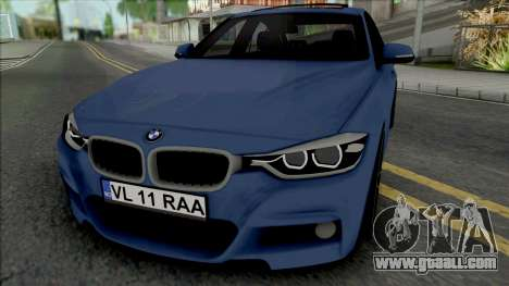 BMW F30 335d M Sport 2016 for GTA San Andreas