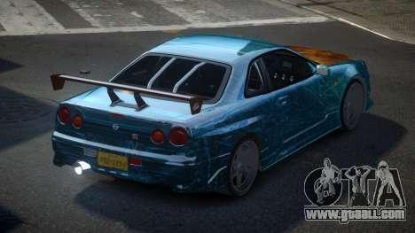 Nissan Skyline R34 PSI-S S8 for GTA 4