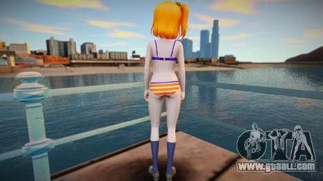 Kousaka Honoka - Love Live - Bikini v1 for GTA San Andreas