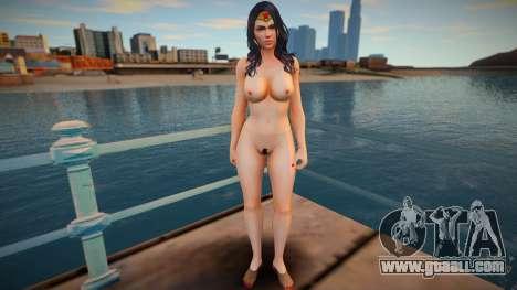 DC Wonder Woman Nude for GTA San Andreas