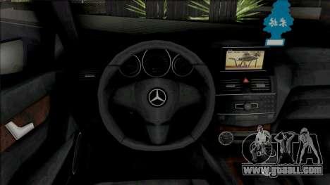 Mercedes-Benz C63 AMG (W204) 2010 [IVF VehFuncs] for GTA San Andreas