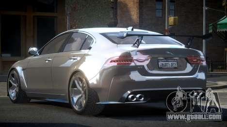 Jaguar XE GST for GTA 4