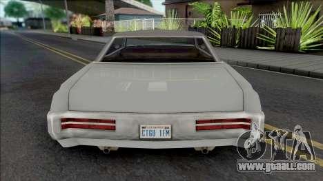 Darlington (Beater Variant) for GTA San Andreas