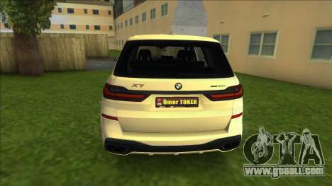 BMW X7 for GTA Vice City