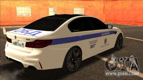 BMW M5 F90 Bulkin Edition V2 for GTA San Andreas