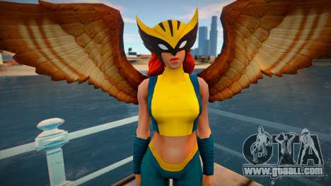Hawkgirl from DC Legends for GTA San Andreas