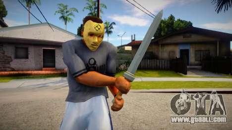 Traveler sword BOTW for GTA San Andreas