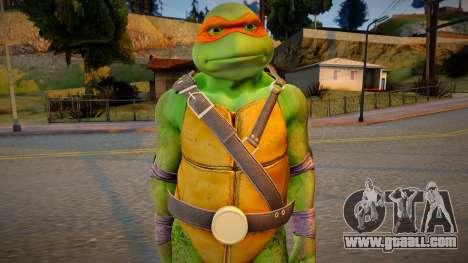 Ninja Turtles - Michaelangelo for GTA San Andreas