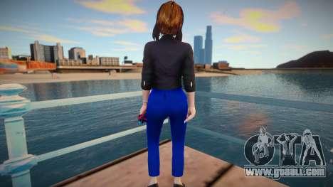 Samantha Samsung (Sam) Virtual Assistant - Origi for GTA San Andreas