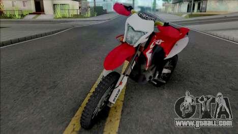 Honda CRF 150L for GTA San Andreas