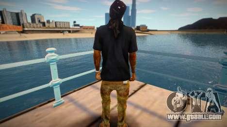 Lil Wayne (good skin) for GTA San Andreas