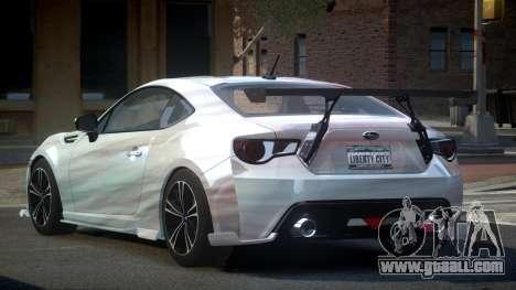 Subaru BRZ SP-U S5 for GTA 4