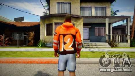 Orange Hoodie 12 for GTA San Andreas