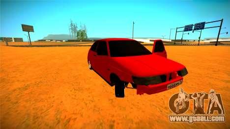 Vaz 2112 AVR Version 1.2 for GTA San Andreas